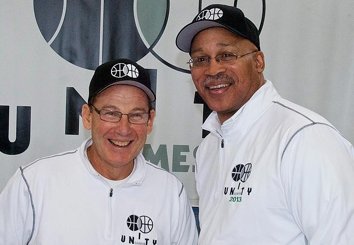 Dr. Mark Sherman and Jacob Carey