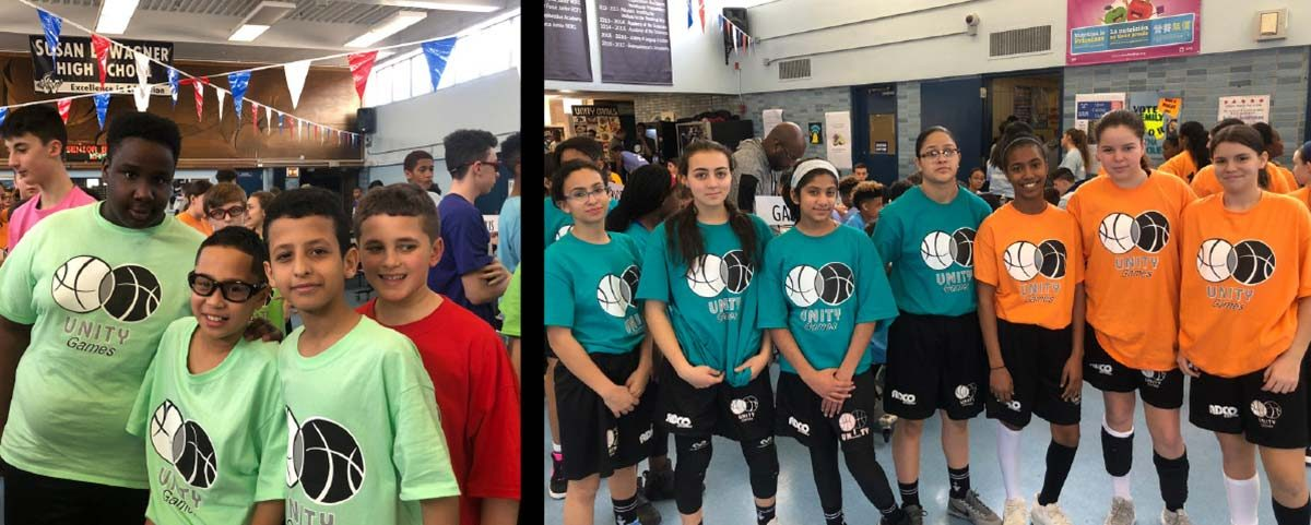 The Unity Games: boys and girls teams